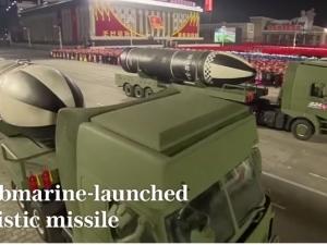 朝鲜阅兵式展示能打美国本