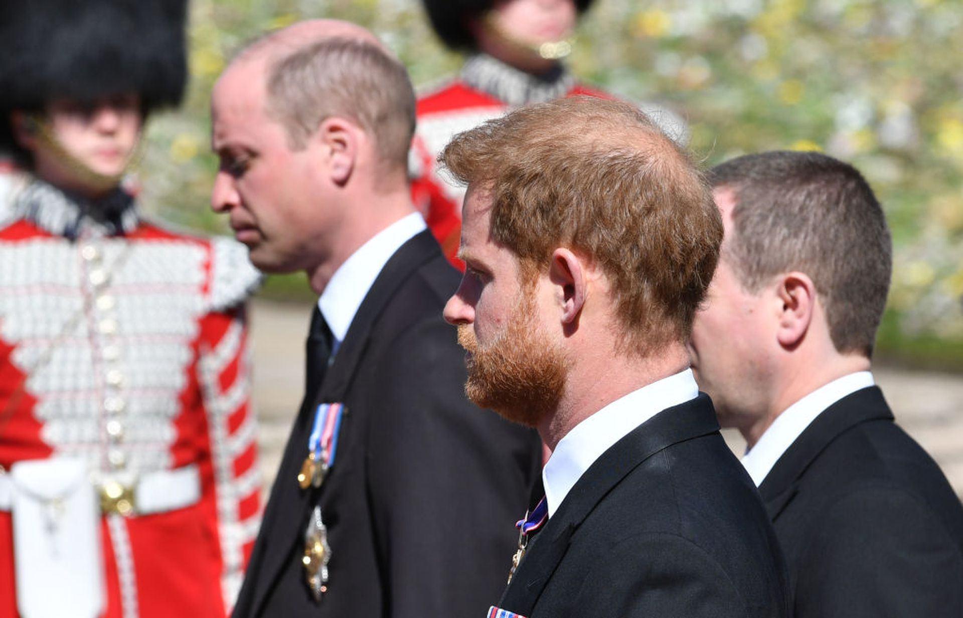 哈里王子原来是被威廉王子赶走 梅根让兄弟