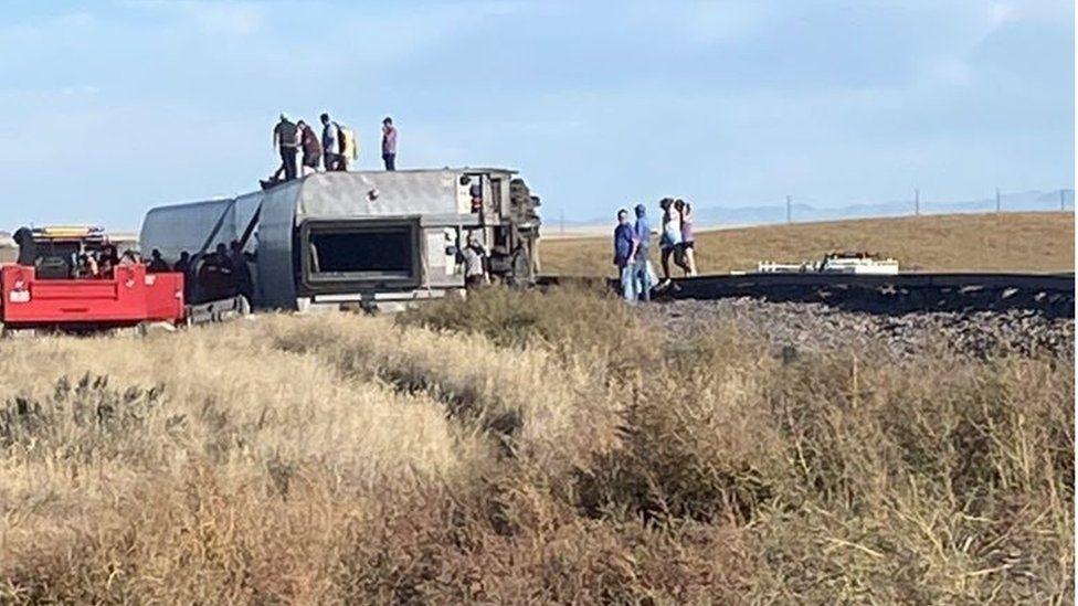 At least three people killed in train derailment near Joplin, Montana